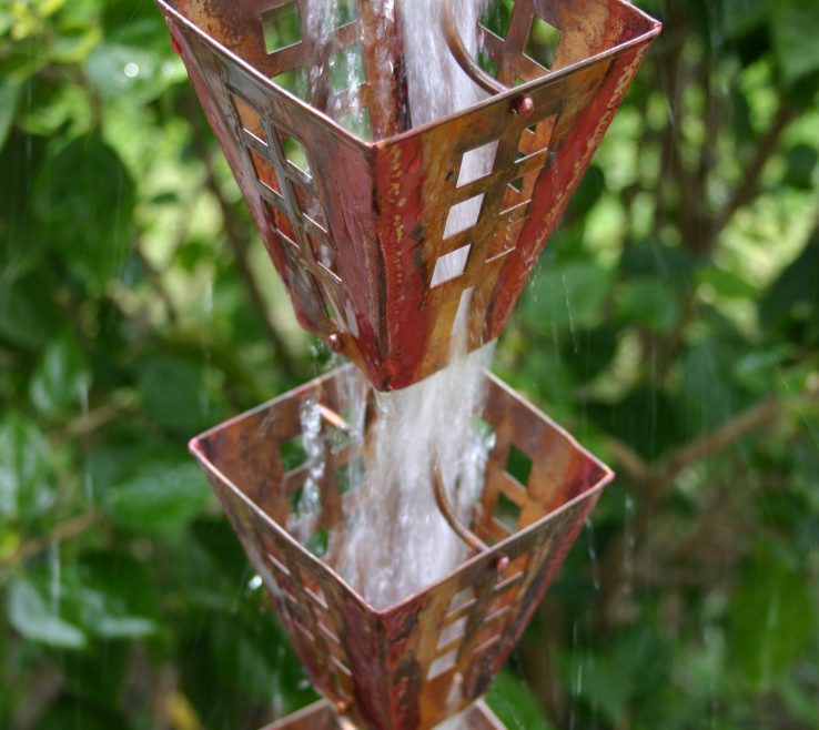 Cool Decorative Downspouts Rain Chains Of Best Seller Arts & Crafts Square