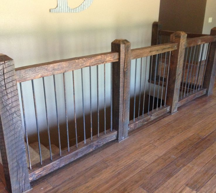 Cool Indoor Stair Railing Pictures And Ideas Of Custom Reclaimed Railings By Stone Creek Ry,