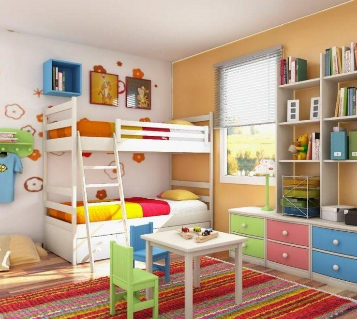 Cool Modern Kids Storage Of Interior Design: Interesting Bins For Room
