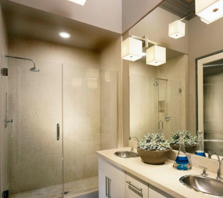 Cool Small Modern Bathroom Of Remodel Pictures | Bathrooms |