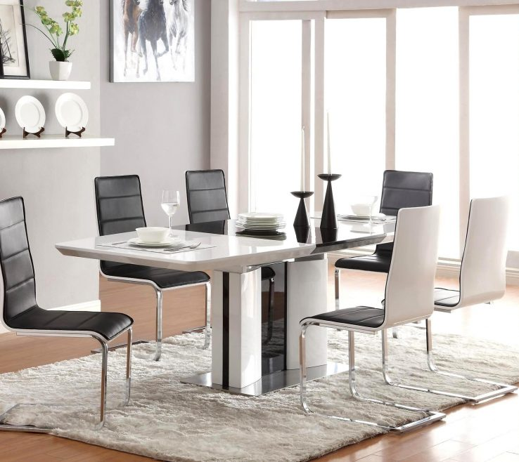 Dining Room Tables Contemporary Design Of Full Size Of Set Modern Style Table