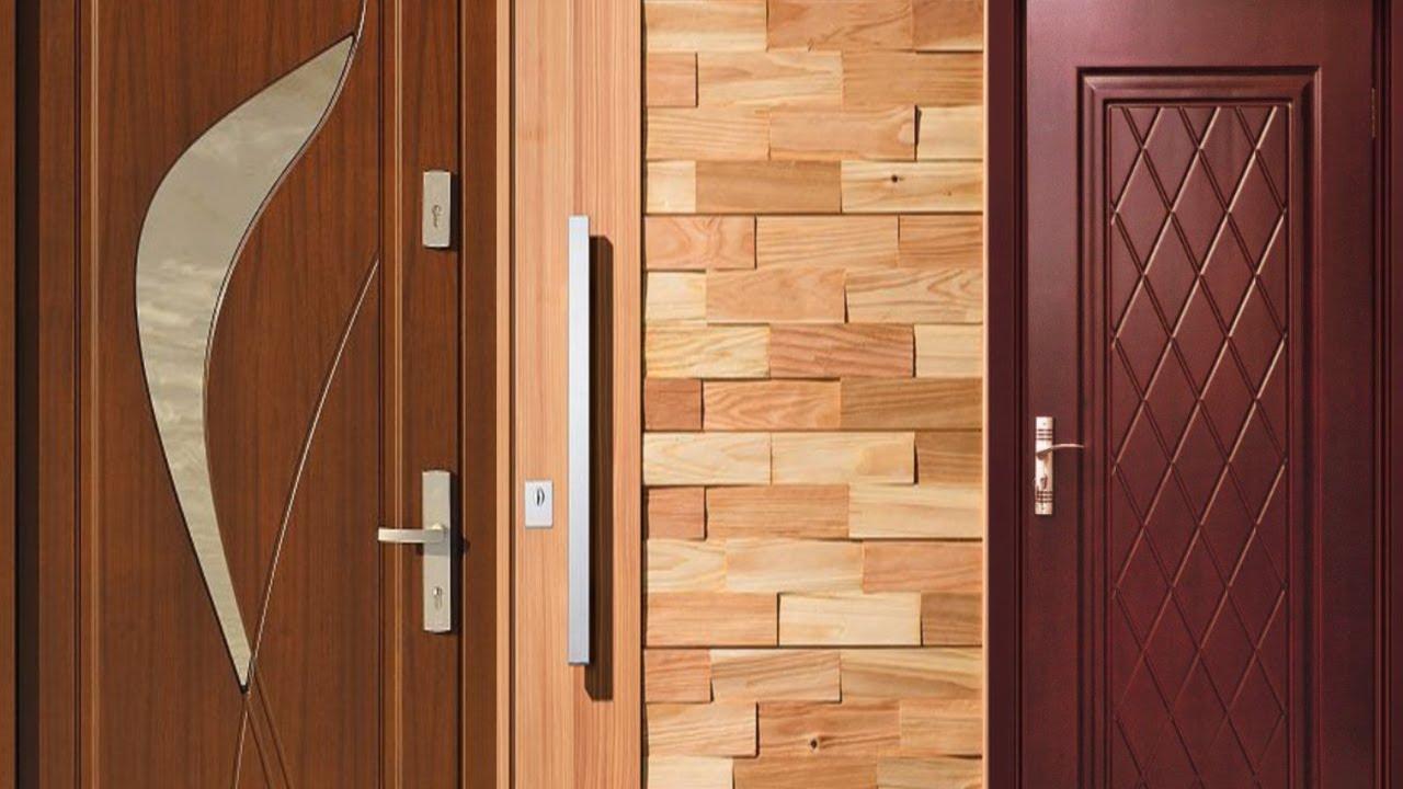 Door Design Ideas Of Modern Wooden 2018/19 - ACNN DECOR