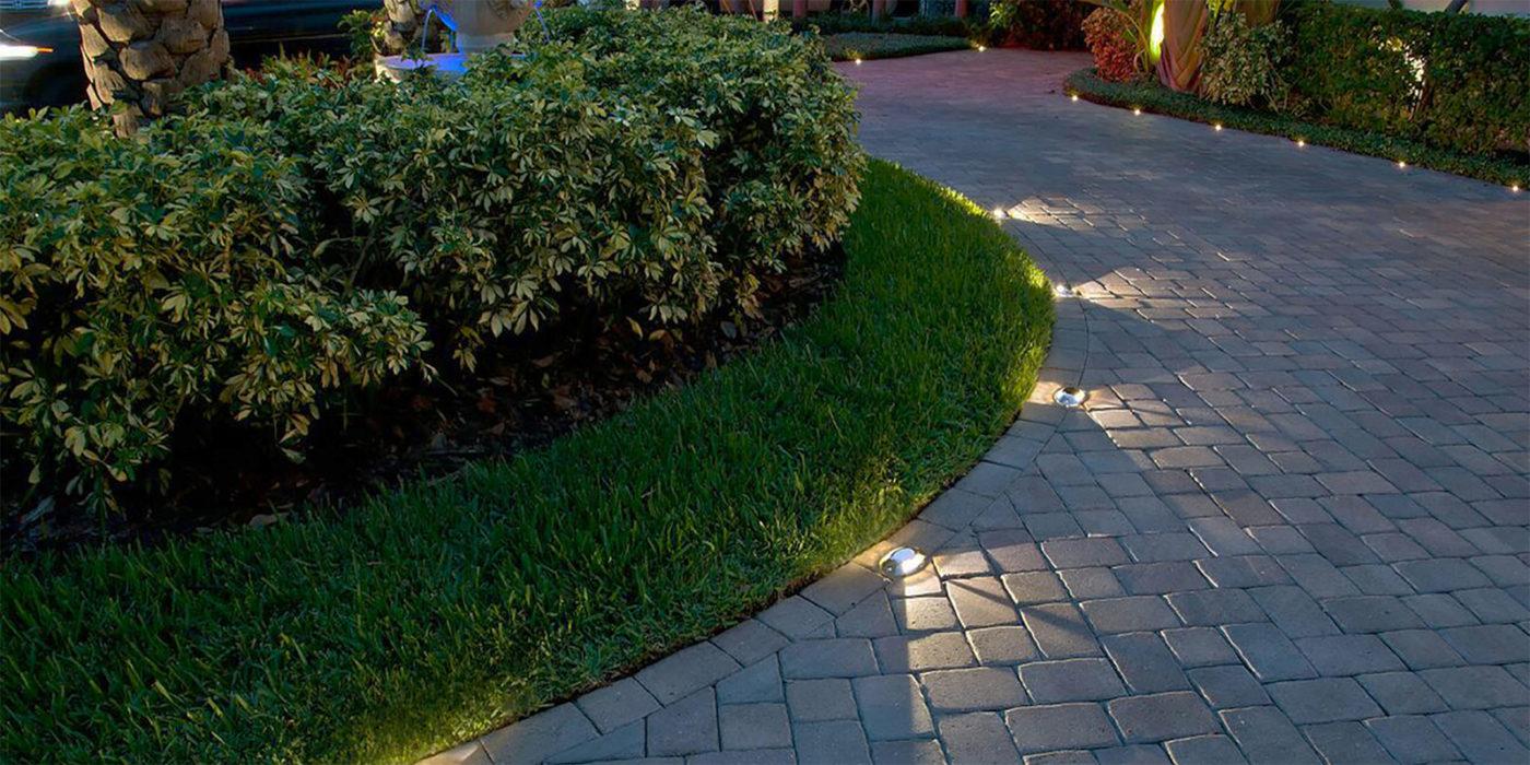 Driveway Designs Ideas Of Landscape Lighting Outdoor Lighting