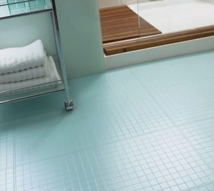 Elegant Glass Floor Tile Bathroom Of Tiles Options