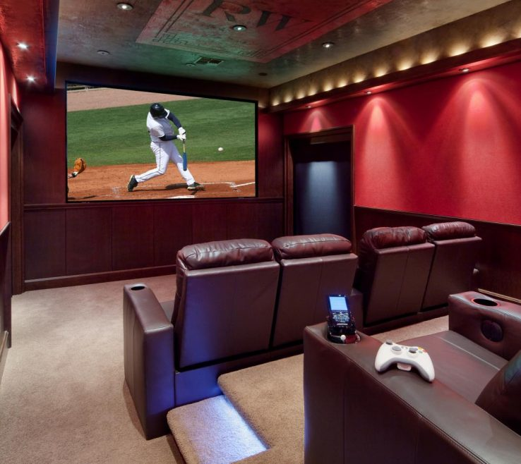 Elegant Ideas For Theater Room Of Inspiring Photo Of Cool Home Sam82