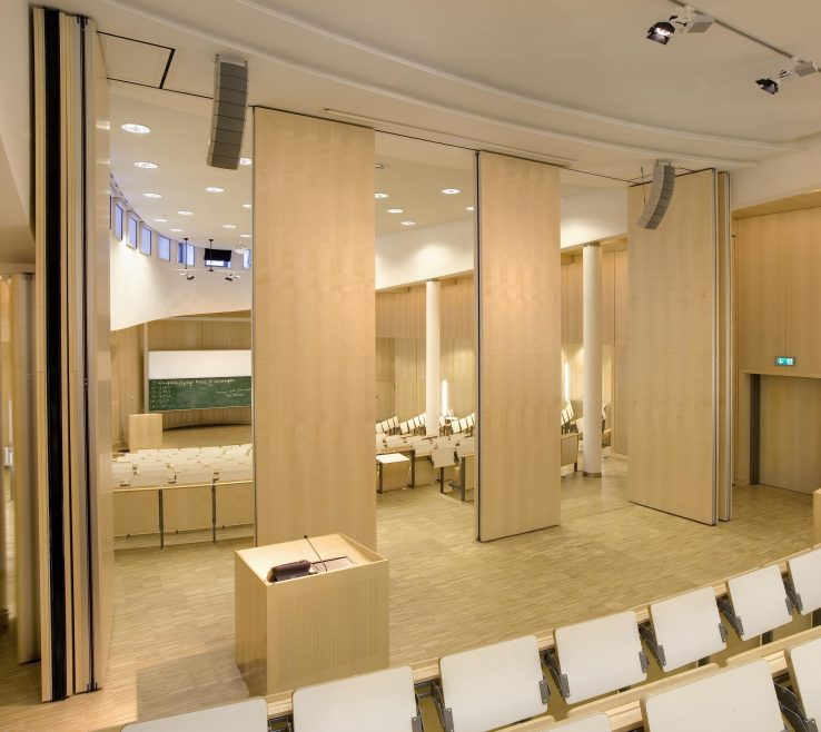 Elegant Interior Partitions For Homes Of Fascinating Oak Movable Walls Theatre With Partition