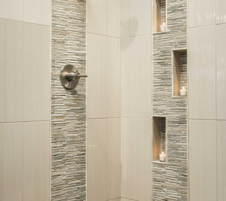 Elegant Modern Bathroom Showers Of Shower Tile More