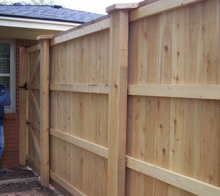 Enchanting Attractive Fences Of Secure And Foot Fence