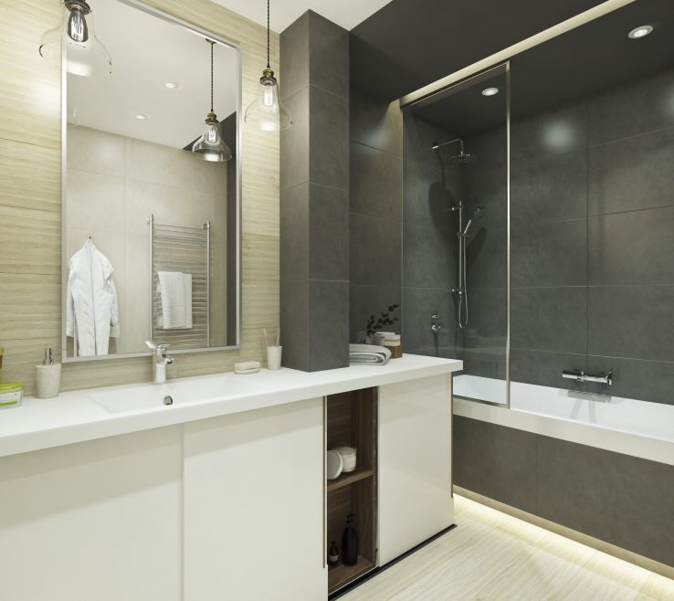 Enchanting Small Modern Bathroom Of Design With Style | Visit :