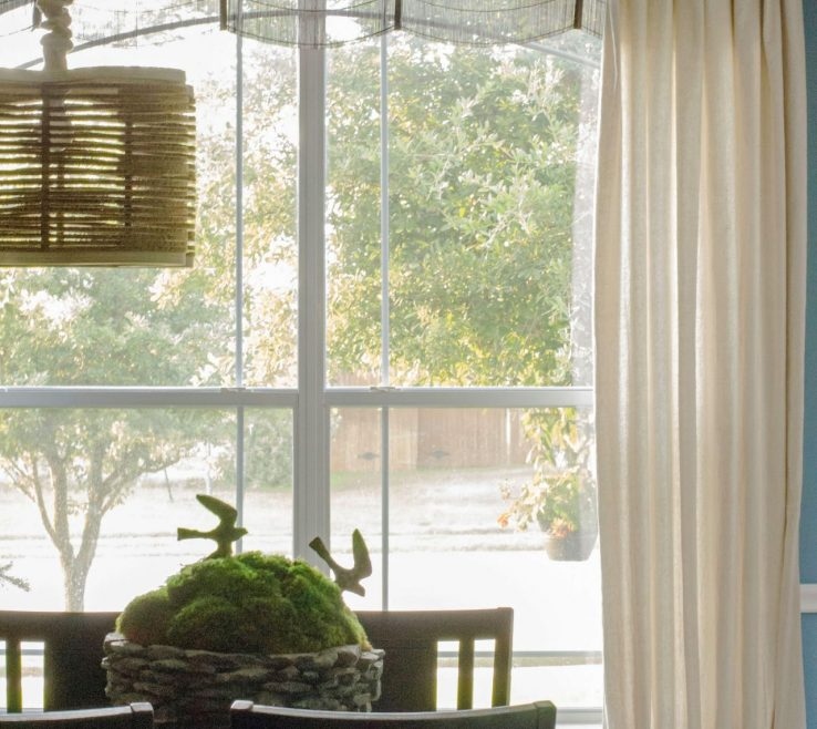 Endearing Dining Room Window Treatment Ideas Of Curtains That Hit The Nail On The