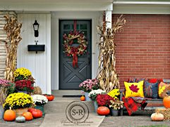 Red And Yellow Decor