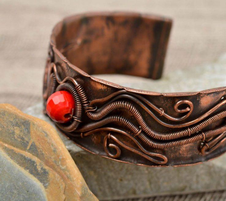 Enthralling Metal Craft Ideas Of Cuff Bracelets Beautiful Handmade Bracelet Designs Womens