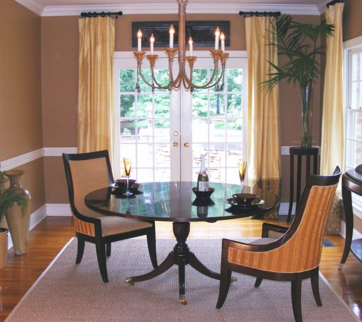 Entrancing Dining Room Window Treatment Ideas Of Classy Treatments Superblied To Your Home Concept: