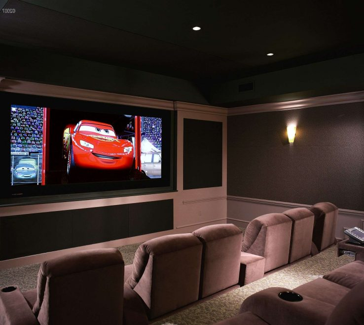 Entrancing Ideas For Theater Room Of Home Design