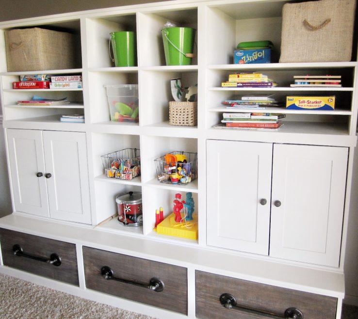Entrancing Modern Kids Storage Of Kriskraft Play Room Rage Unit Playroom System