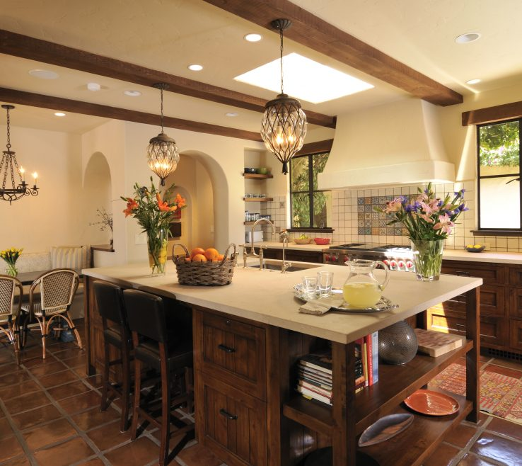 Entrancing Spanish Decor Ideas Of Style Kitchen Decorating
