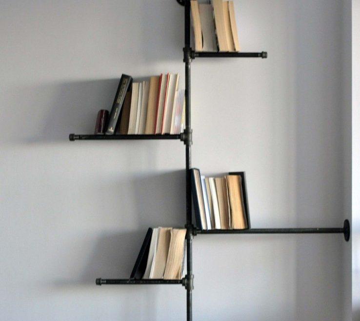 Entrancing Unique Shelving Units Of Fantastic Hanging Bookshelf Furniture