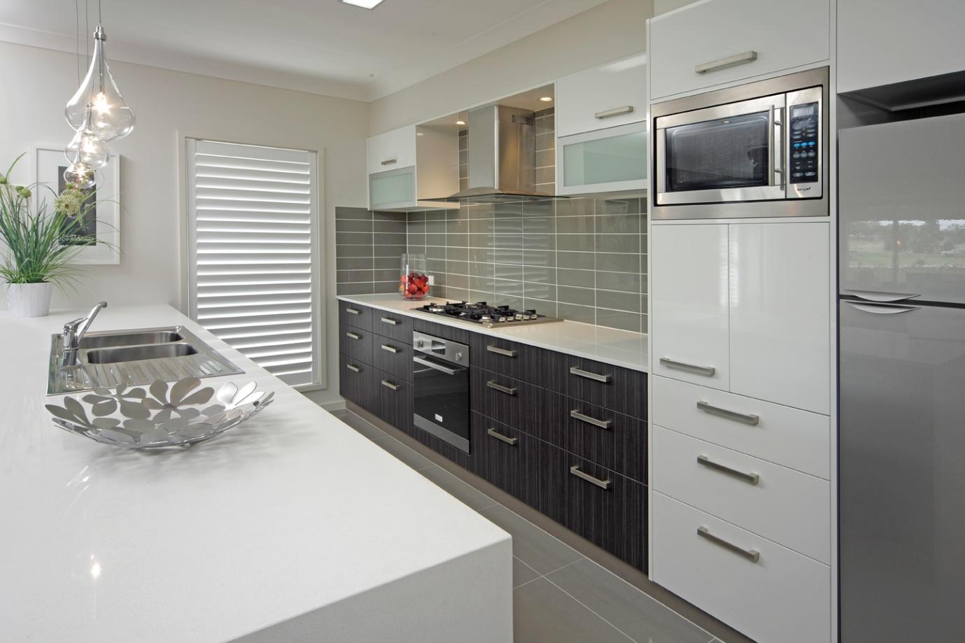 Exquisite Sleek Kitchen Designs Of Kitchens Interior Pic Of ...