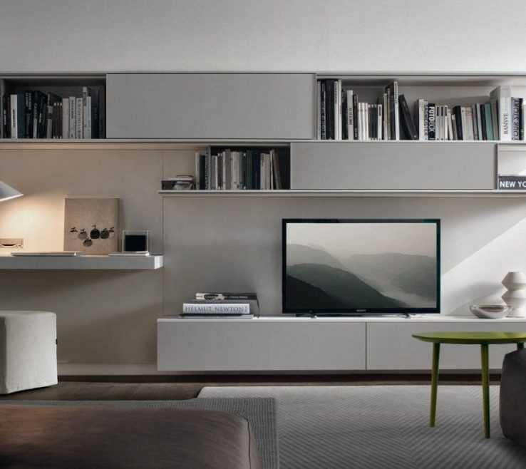 Exquisite Wall Unit Designs For Small Living Room Of System With Modern Black Corner Tv
