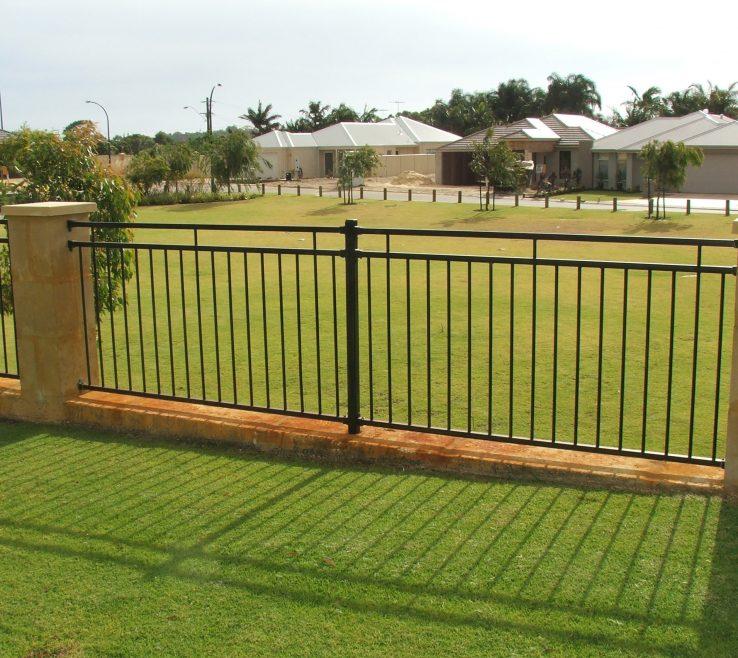Extraordinary Attractive Fences Of Image Of Decorative Garden Fencing Ideas