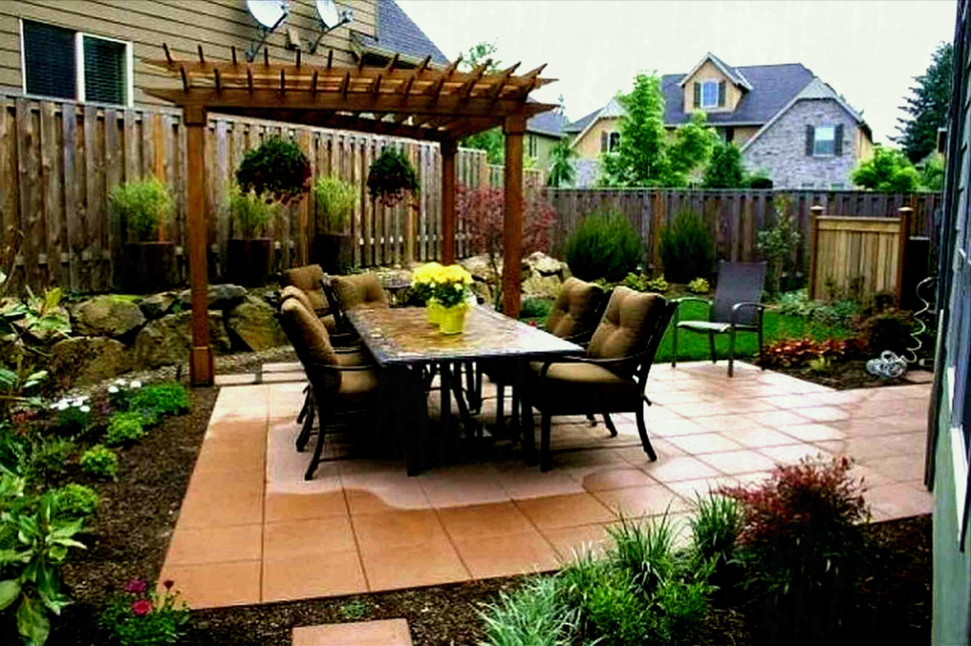 Backyard Ideas For Small Yards No Grass