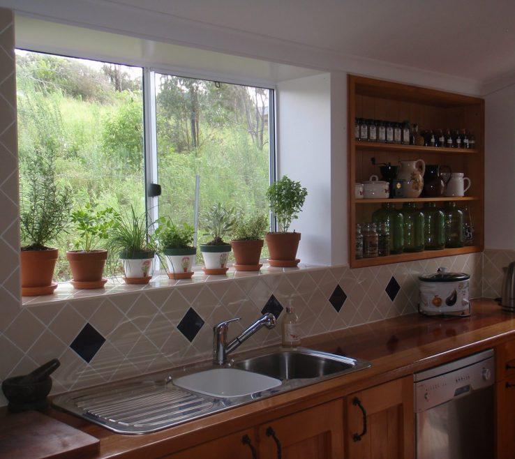 Extraordinary Window Sill Ideas Of Kitchen