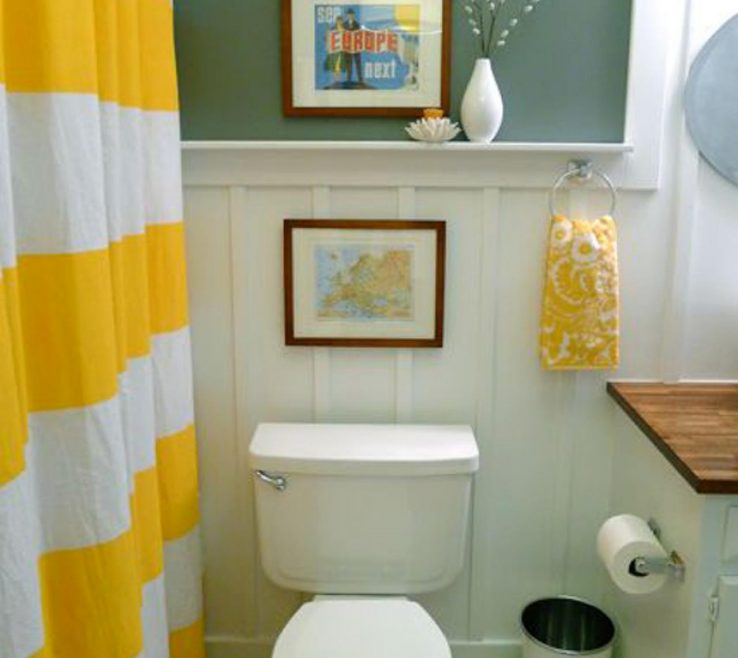 Extraordinary Yellow Bathrooms Of Bathroom Decor Ideas