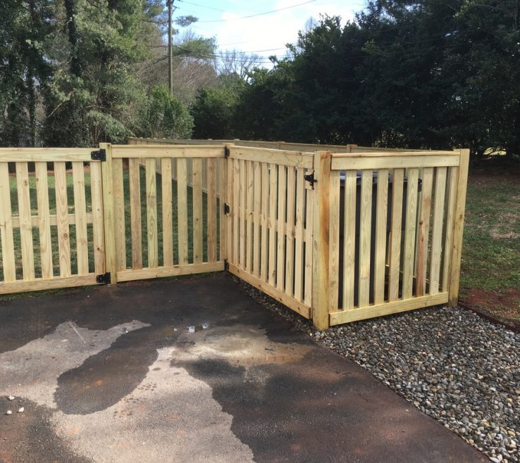Eye Catching Attractive Fences Of This Ing Fence With Its Framed Pickets