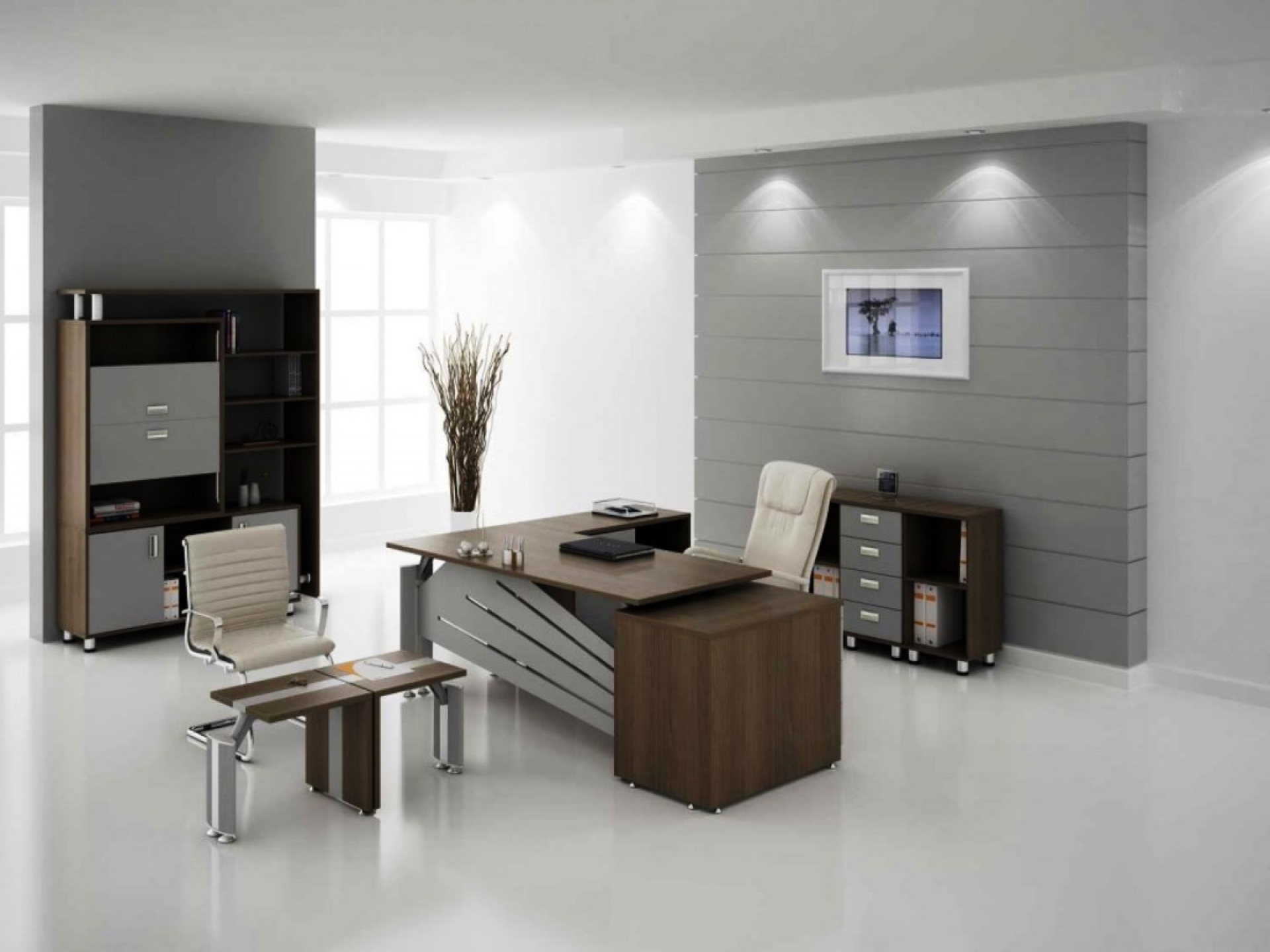 Eye Catching Small Office Decorating Ideas Of Ideassmall ...