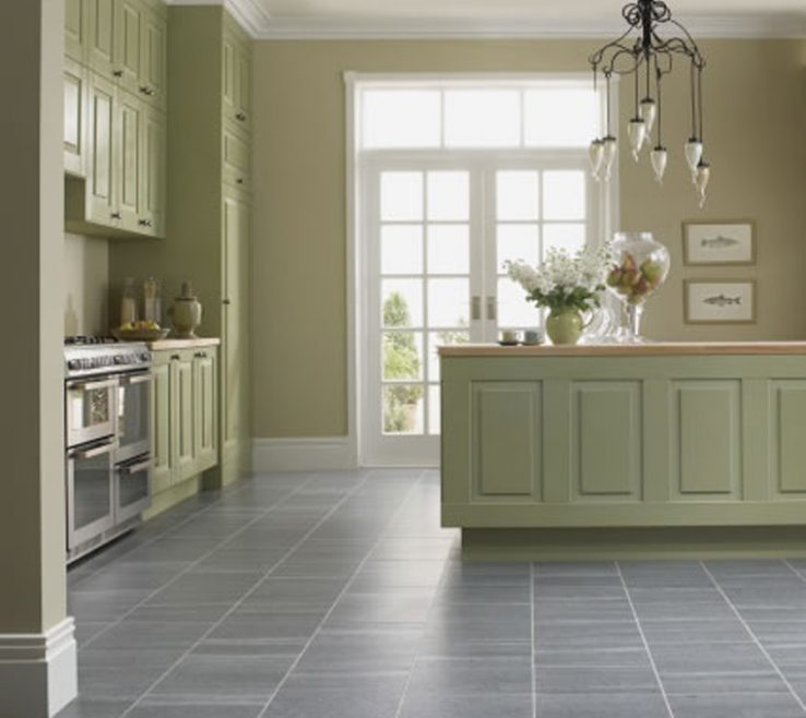 Eye Catching Tile Floor Designs For Kitchens