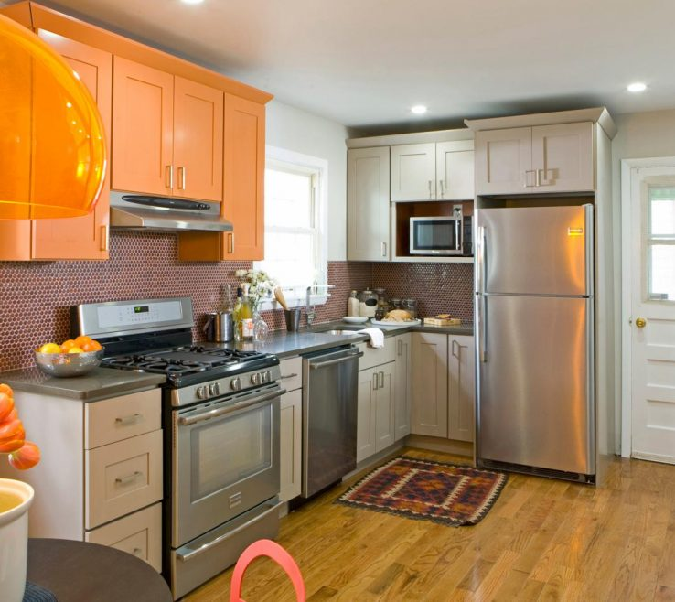 Fascinating Orange Kitchen S Of Paint Colors For S Pictures Options Tips
