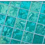 Glass Floor Tile Bathroom
