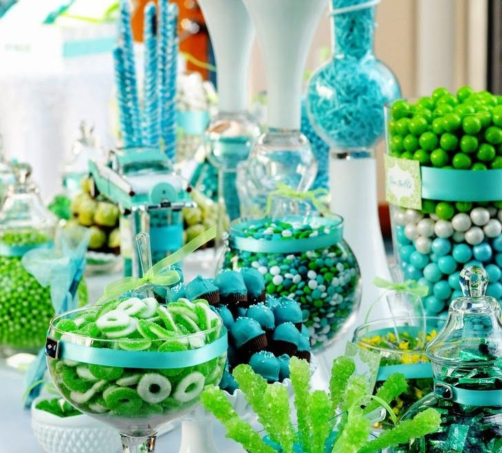 Green And Turquoise Decor Of Dining Room Ideas, Rooms, Living Room Accessories,