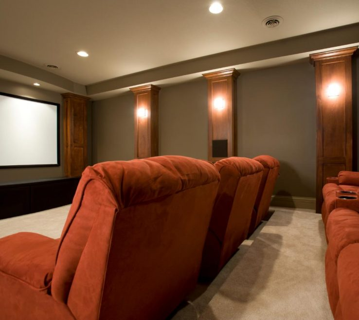 Ideas For Theater Room Of Viewing
