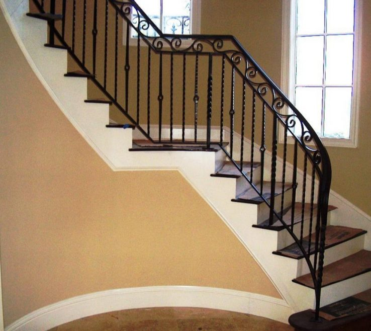 Impressing Indoor Stair Railing Pictures And Ideas Of Railings
