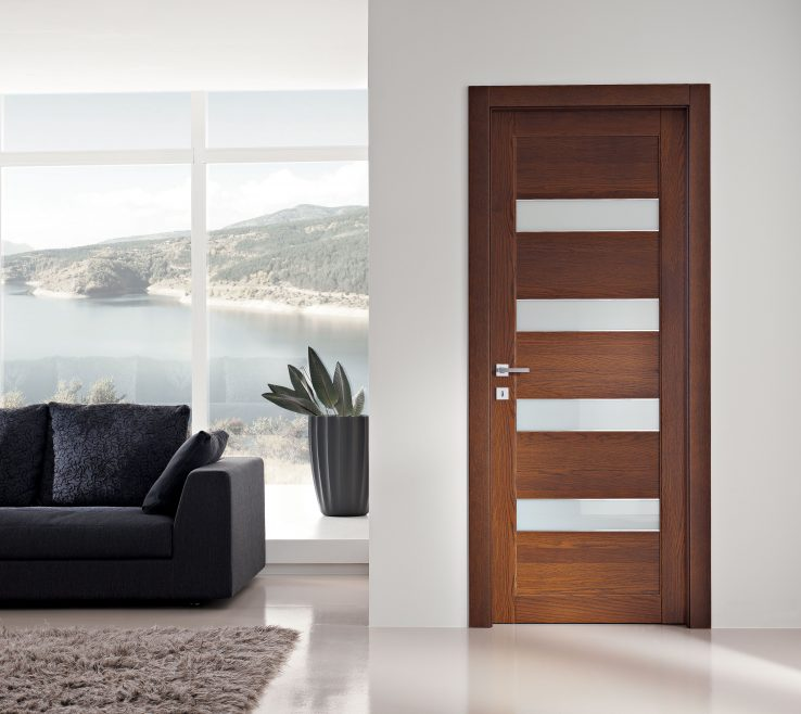 Impressing Interior Contemporary Doors Of Cottage More