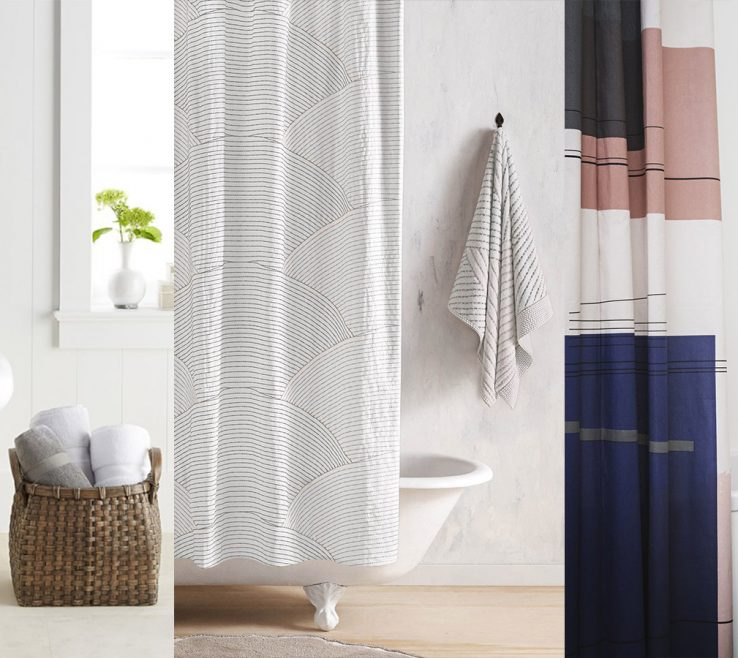 Impressing Modern Bathroom Showers Of 10 Stylish Shower Curtains For A