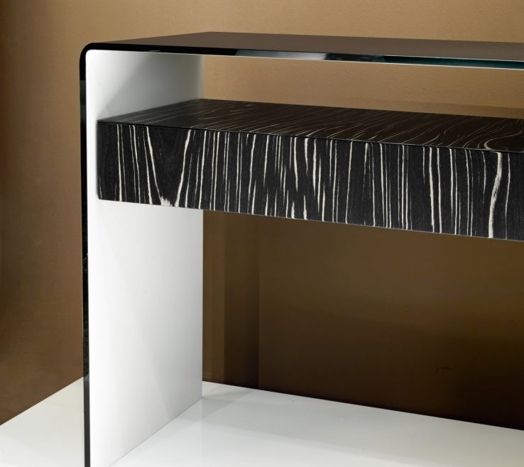 Impressive Contemporary Console Table With Drawers Of Image Of Designs