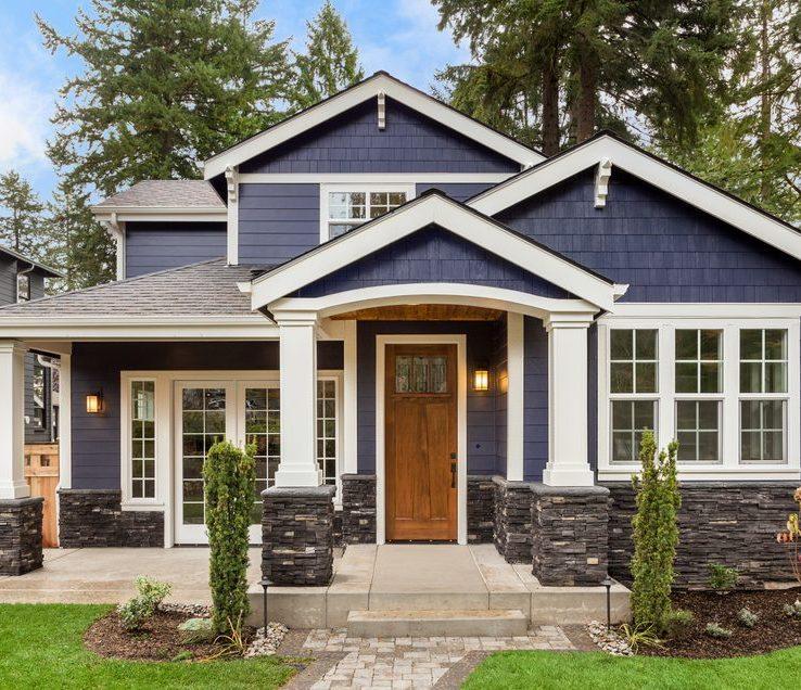 Impressive Exterior E Paint Color Ideas
