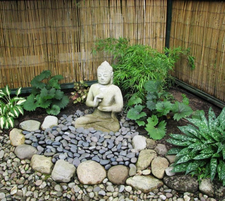 Impressive Homemade Garden Decorations Of Image Of Diy Decorative Rocks