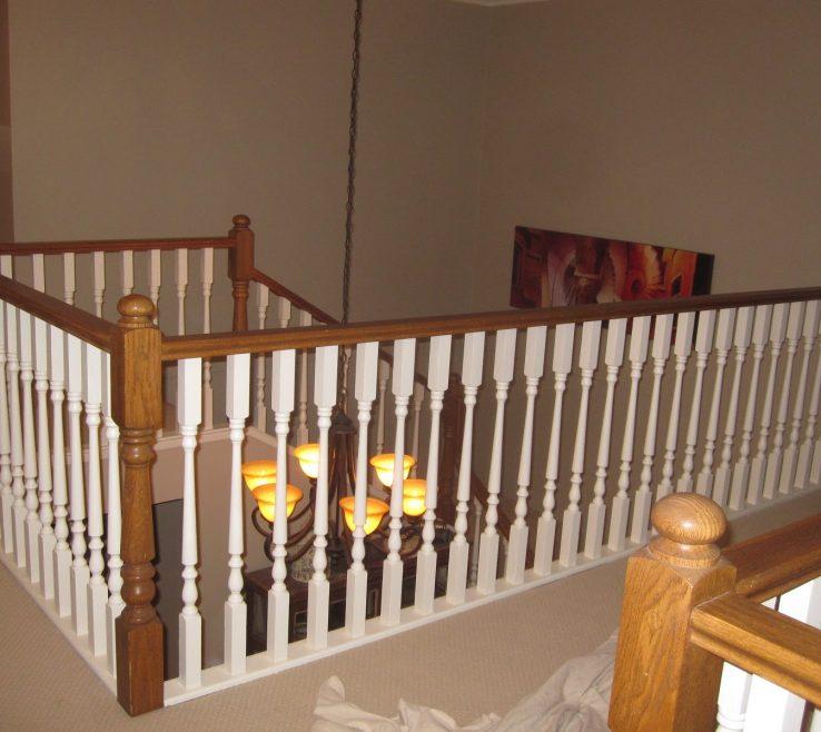 Impressive Indoor Stair Railing Pictures And Ideas Of Interior