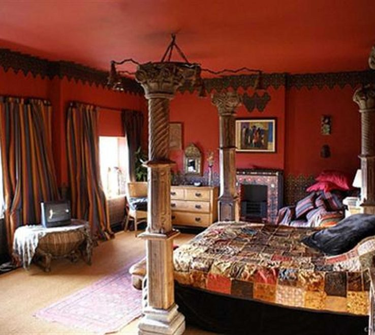 Impressive Middle Eastern Home Decor Of Moroccan Bedrooms Are Colorful And Dreamy. Pin