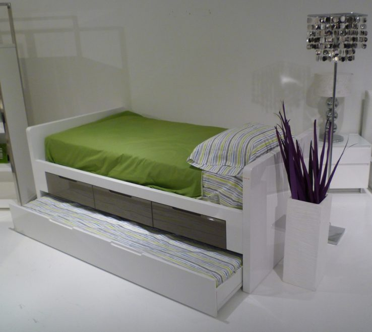 Impressive Modern Kids Storage Of Italian Design Bed With And Trundle