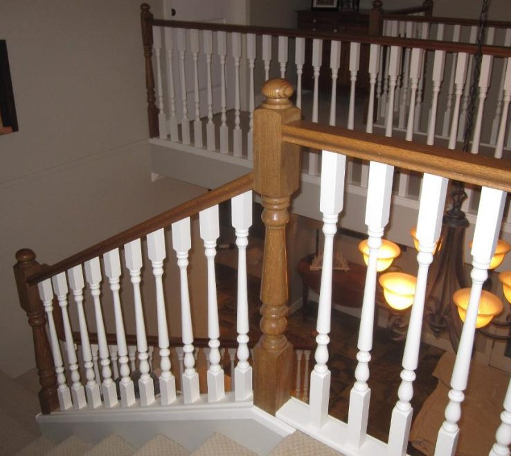 Indoor Stair Railing Pictures And Ideas Of Image Of: