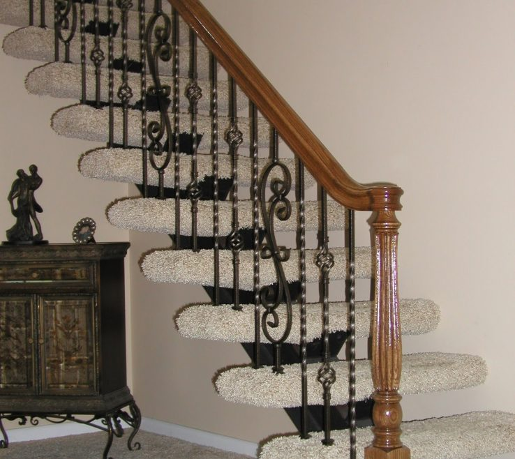 Indoor Stair Railing Pictures And Ideas Of Image Of: Modern Kits