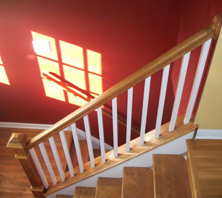Indoor Stair Railing Pictures And Ideas Of Interior Wood Systems