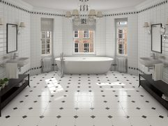 Bathroom Floor Tiles Designs
