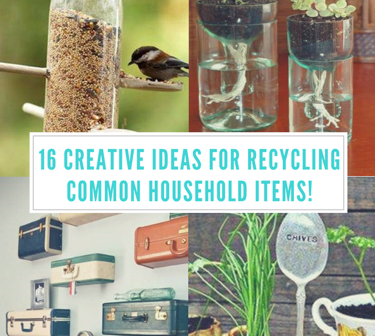 Ing Creative Recycling Ideas Of 16 Mon Ehold Items! Sassy E