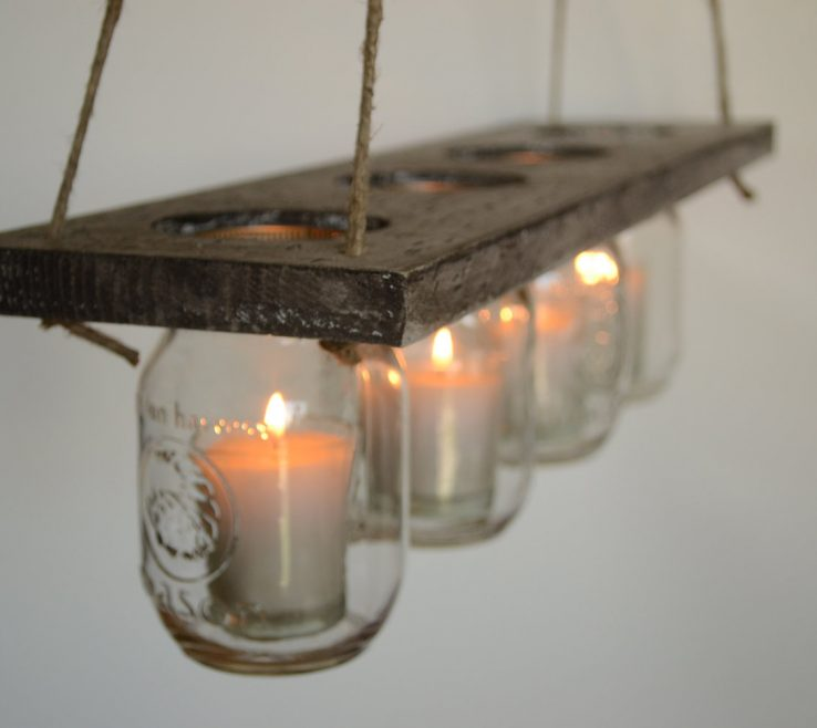 Ing Rustic Interior Lighting Of Hanging Candle Sconces Design Decoration Diy Indoor