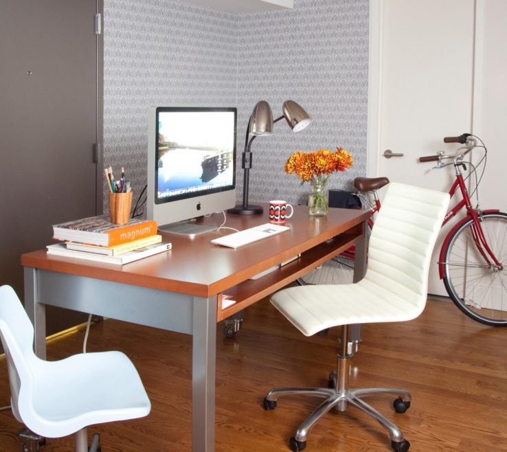 Inspiring Bedroom Office Desk